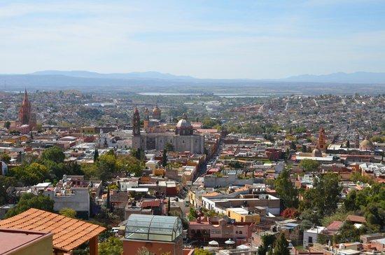 Antigua Capilla Bed and Breakfast : Vue de la terasse