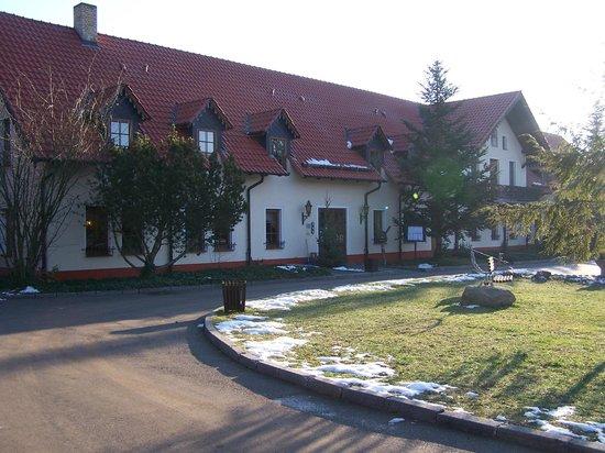 Forsthaus Dröschkau: Frontansicht