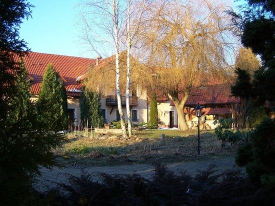Forsthaus Dröschkau: Innenhof