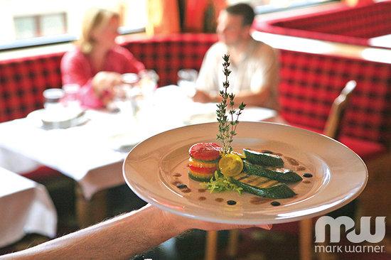 Chalet Hotel Schweizerhof Food