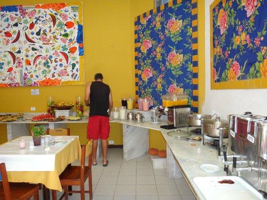 Pousada Villa del Sol: CAFÉ DA MANHÃ