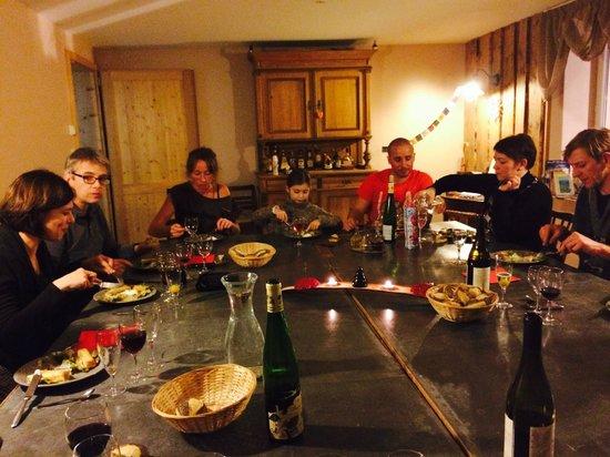 Chez Jeanmyvonne : samen dineren