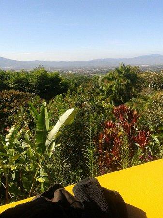 Xandari Resort & Spa Restaurant: The view from breakfast