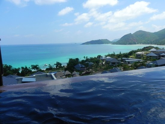 Raffles Seychelles: ocean view