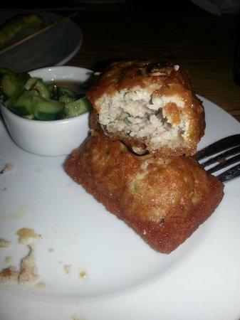 Blue House Thai Restaurant : Chicken Toast - to die for!