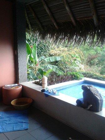 Xandari Resort & Spa Restaurant: Private jalapa for spa treatments