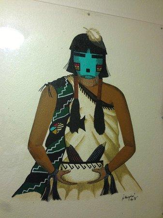 Quality Inn Navajo Nation : Оформление коридоров