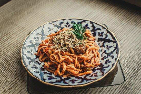 Khumo: рекомендация от нашего Шефа: кавурма-Лагман - второе блюдо