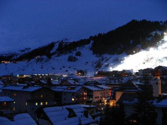 the view - Picture of Raffl\'s Tyrol Hotel, St. Anton am Arlberg ...