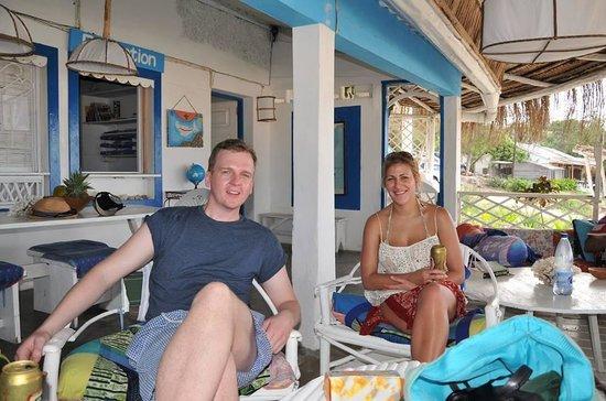 Casa na Praia Tofo : On the veranda