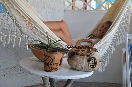 Casa na Praia Tofo : Sunset room