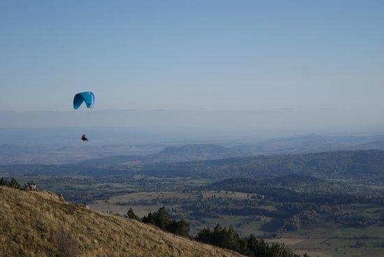 Puy de Dôme : vue