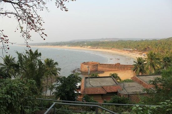 Taj Fort Aguada Resort & Spa, Goa: View from the lawn in front of the room