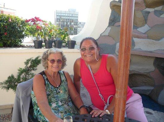 Hotel Morales Historical & Colonial Downtown Core: terraço Verbena