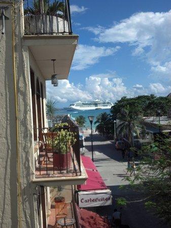 our view Hotel Cielo Playa Del Carmen Mexico