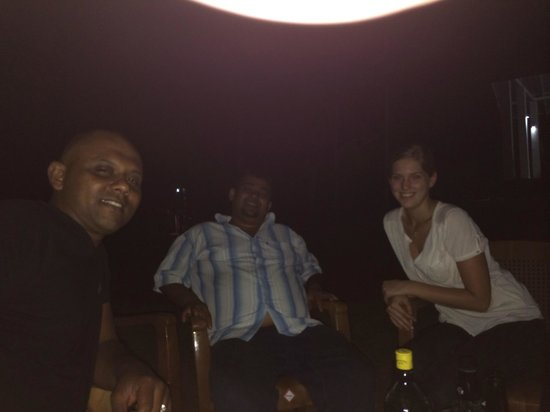 Sevana Agro : The owners and their first guest from Germany