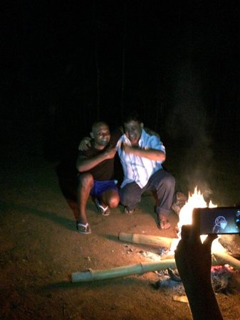 Sevana Agro: The brothers/owners at the BBQ pit