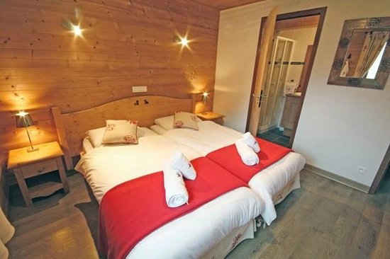 Cairn Lodge : Twin/Double Bedroom