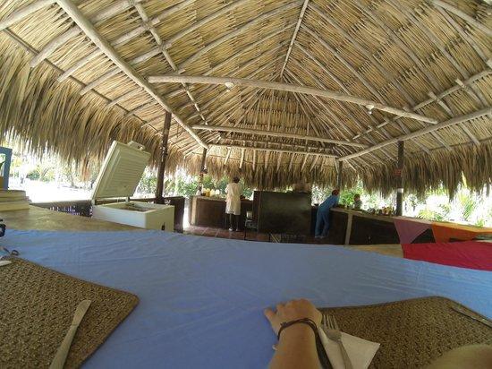 Las Palmeras Eco-Hotel : Comedor