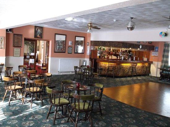 Cygnet Hotel: Bar and dance floor