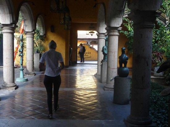Destilería La Rojeña de José Cuervo: Início da visita