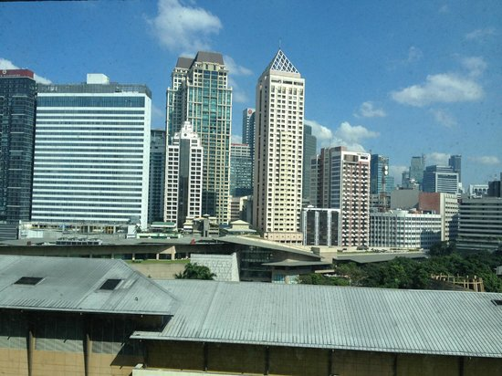 New World Makati Hotel: View from Room