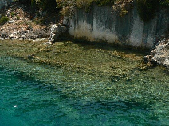 Island of Kekova: Kekova, resti della città
