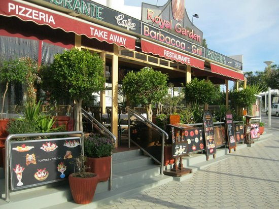 Restaurante Royal Garden: Frente