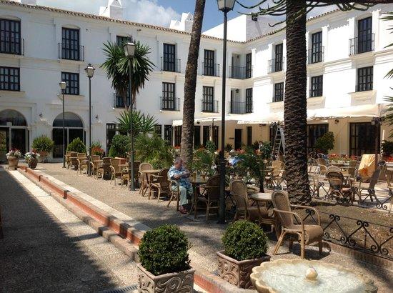 ILUNION Hacienda del Sol : The terrace