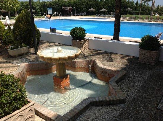 ILUNION Hacienda del Sol : The pool from the terrace
