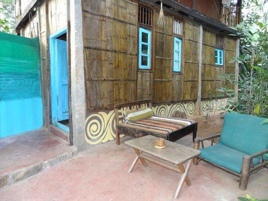Bhakti Kutir: Terrasse privée