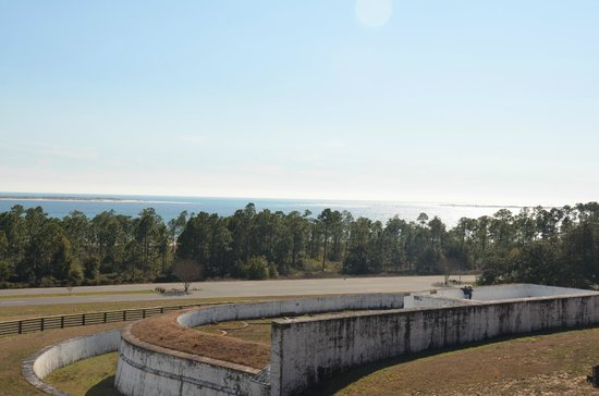 The Spanish Water Battery in front of Fort Barrancas