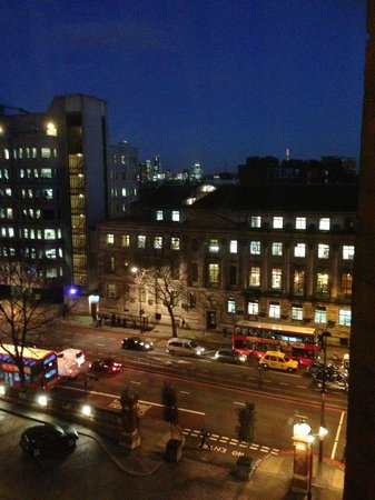 St. Pancras Renaissance Hotel London : View from Queen Victoria Suite