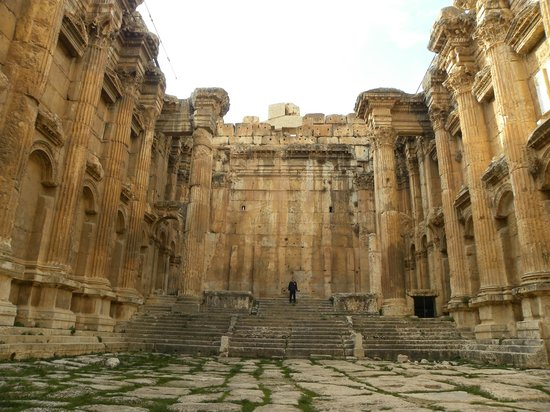 Temples de Baalbek : again....all to ourselves