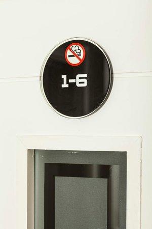 Chiswick Rooms : Door Numbers