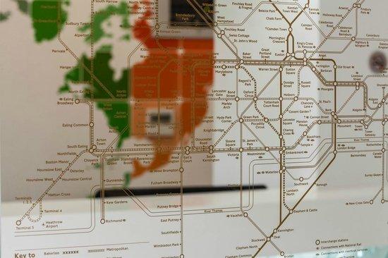 Chiswick Rooms : Underground Map