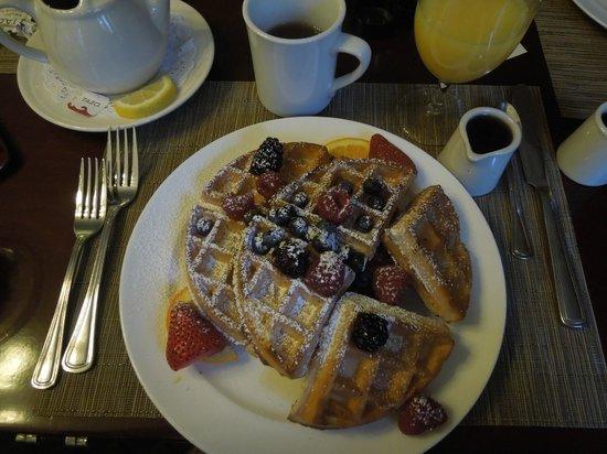 The Gideon Putnam: My great breakfast