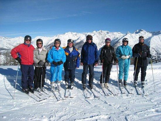 Hotel Las Donnas : Skiing area