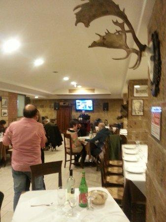 La Chamade pizzeria Quarto: Sala interna (Veduta parziale)