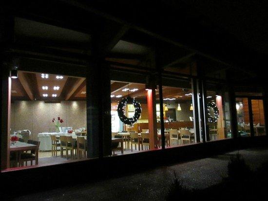 Hotel Hanasaari: Вид на ресторан снаружи