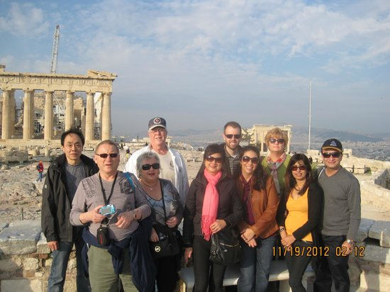 Private Greece Tours : Our group!