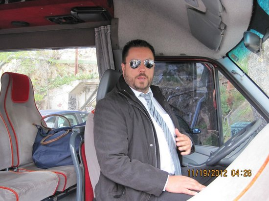 Private Greece Tours : Our tour guide for the day  (wonderful)