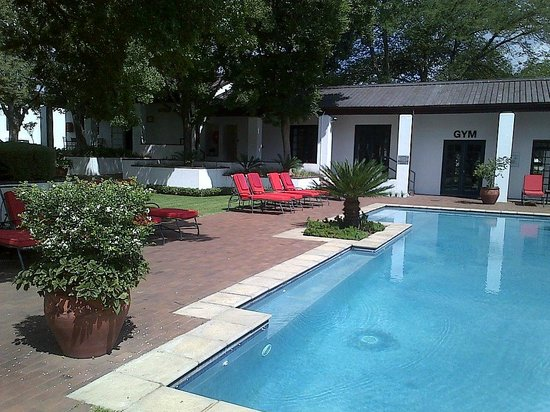 Indaba Hotel: 2nd pool in Block 5