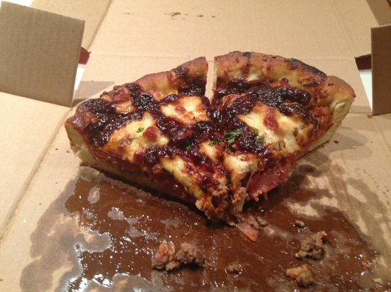 Mickey's Pizza: Meat King with BBQ Sauce