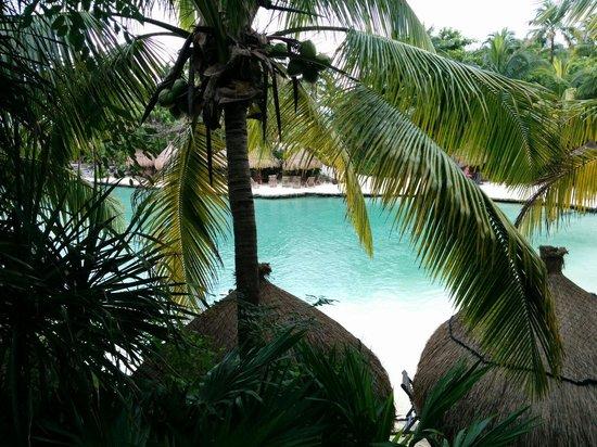 Xcaret Eco Theme Park: warm ocean water