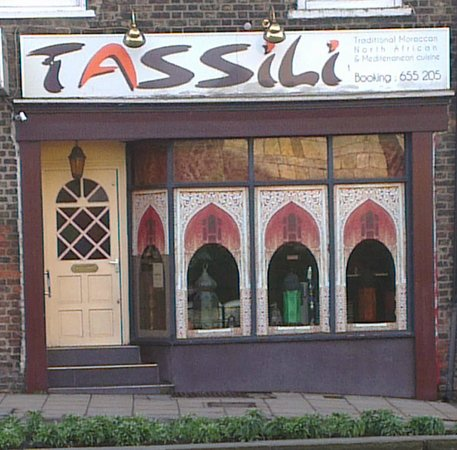 Tassili - on a busy road but well worth a visit.