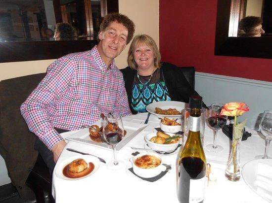 Mirabelle Restaurant : Husbands Birthday