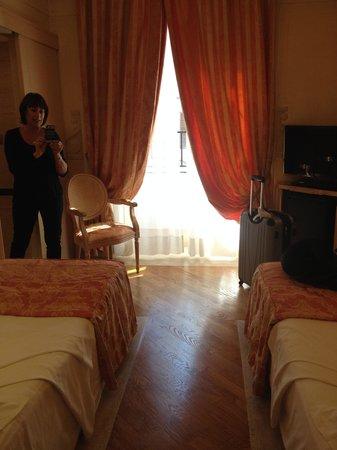 Hotel Isa: view from the door