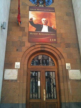 Aram Khachaturian Museum : Portone