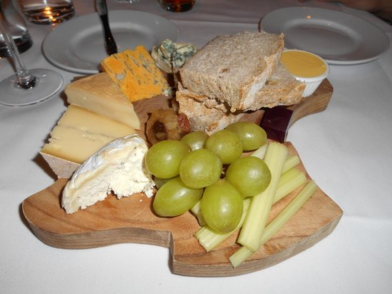 Mirabelle Restaurant: Wonderful Cheeseboard